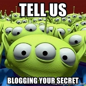 Toy Story Aliens Claw  - tell us  Blogging Your secret