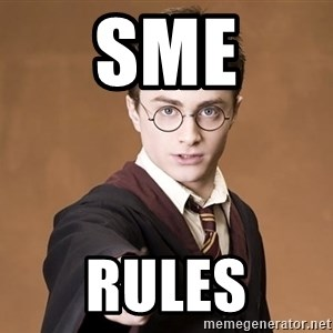 Harry Potter spell - sme rules