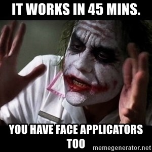 joker mind loss - It Works in 45 Mins. You have face Applicators too