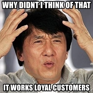 Jackie Chan - Why didnt i think of that It Works Loyal Customers