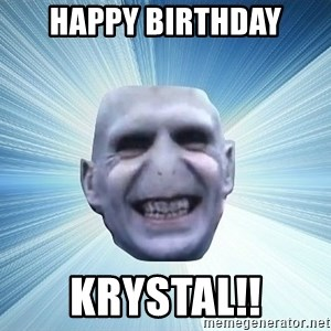 vold - Happy Birthday Krystal!!