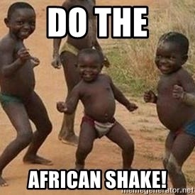 african children dancing - Do The African Shake!