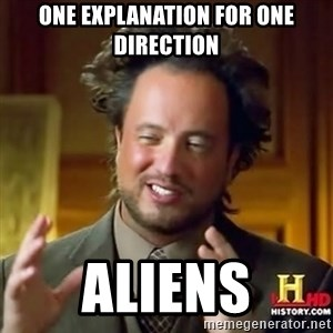 ancient alien guy - one explanation for one direction aliens