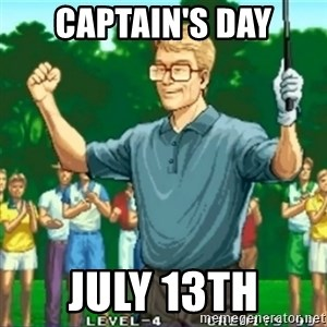 Happy Golfer - Captain's Day July 13th