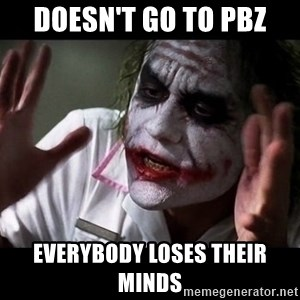 joker mind loss - Doesn't go to PBZ Everybody loses their minds
