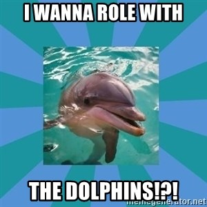 Dyscalculic Dolphin - I wanna role with The dolphins!?!