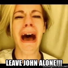 leave britney -  Leave John alone!!!