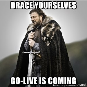 ned stark as the doctor - BRACE YOURSELVES GO-LIVE IS COMING