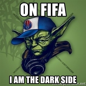 Street Yoda - on fifa i am the dark side