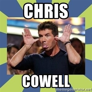 simon cowell  - CHRIS COWELL