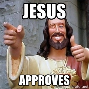 Jesus - Jesus Approves