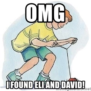 Yo-Yo Noob - OMG I Found eli and david!