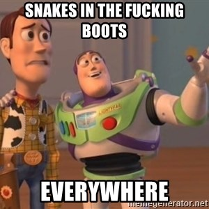 buzz light - snakes in the fucking boots everywhere