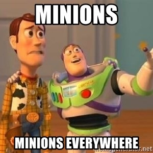 Woody and Buzz HD - MINIONS MINIONS EVERYWHERE