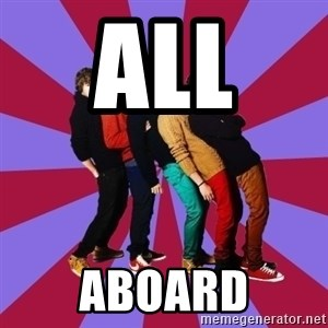 typical 1D - All  Aboard