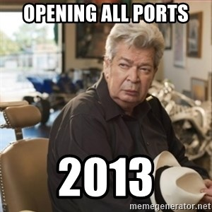 old man pawn stars - Opening all ports 2013