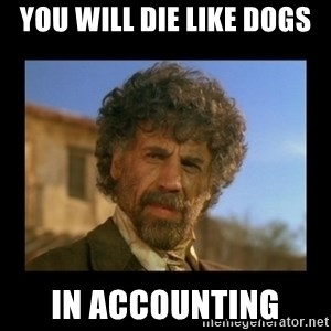 El Guapo Plethora - You will die like dogs in accounting