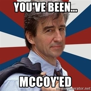 Jack McCoy - You've been... McCoy'ed