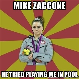 Not Impressed Makayla - Mike Zaccone he tried playing me in pool
