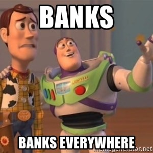 buzz light - BANKS BANKS EVERYWHERE
