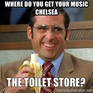 Toilet Store - Where do you get your music chelsea