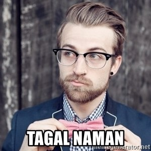 Scumbag Analytic Philosopher -  tagal naman