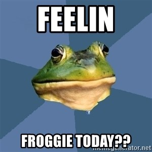 FACEBOOK FROG - Feelin Froggie Today??