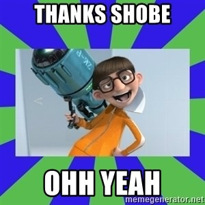 Vector Despicable Me - thanks shobe ohh yeah