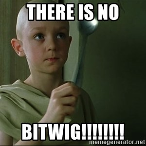 There is no spoon - there is no bitwig!!!!!!!!