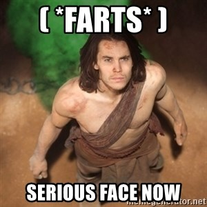 John Farter - ( *FARTS* ) SERIOUS FACE NOW
