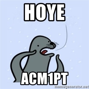 gay seal - hoye Acm1pt
