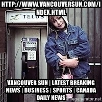 ZOE GREAVES TIMMINS ONTARIO - http://www.vancouversun.com/index.html Vancouver Sun | Latest Breaking News | Business | Sports | Canada Daily News
