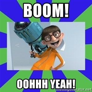 Vector Despicable Me - BOOM! OOHHH YEAH!