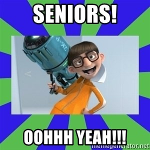 Vector Despicable Me - Seniors! OOHHH YEAH!!!