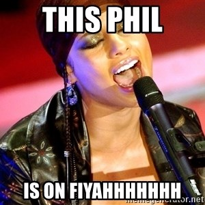Alicia Keys Sings - This Phil Is on fiyahhhhhhh
