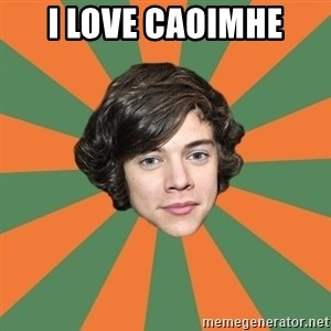 Harry 11 - I LOVE CAOIMHE