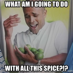 Limes Guy - WHAT AM I GOING TO DO WITH ALL THIS SPICE?!?