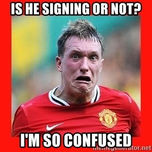 Phil Jones Scared Face - Is he signing or not? I'm so confused