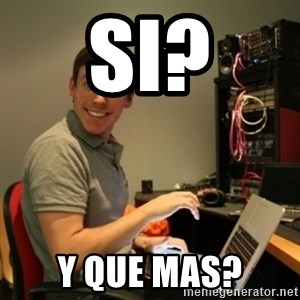 Ridiculously Photogenic Journalist - Si? Y que mas?