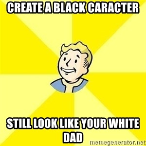 Fallout 3 - Create a black caracter Still look like your white dad
