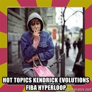 ZOE GREAVES DOWNTOWN EASTSIDE VANCOUVER -  Hot Topics kendrick evolutions fiba hyperloop