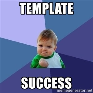 Success Kid - Template  success