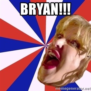 Courtney Love rant - BRYAN!!!