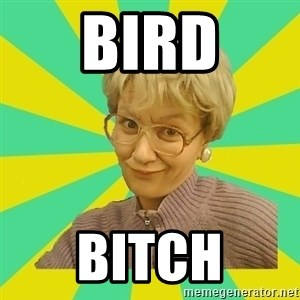 Sexual Innuendo Grandma - bird bitch