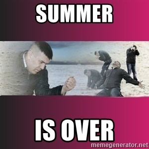 Dramatic Dmitri - Summer is over