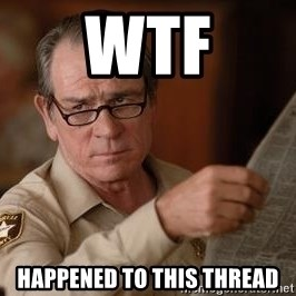 Tommy Lee Jones  - WTF happened to this thread