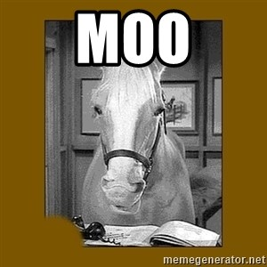 Mr. Ed 2.0 - Moo