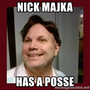 Free Speech Whatley - nick Majka has a posse