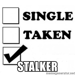 single taken checkbox -  Stalker