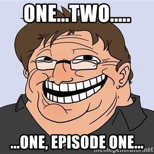 Gabe Newell trollface - one...two..... ...one, episode one...
